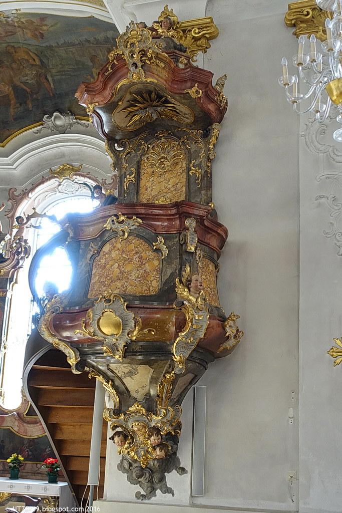 Stadtpfarrkirche Kanzel