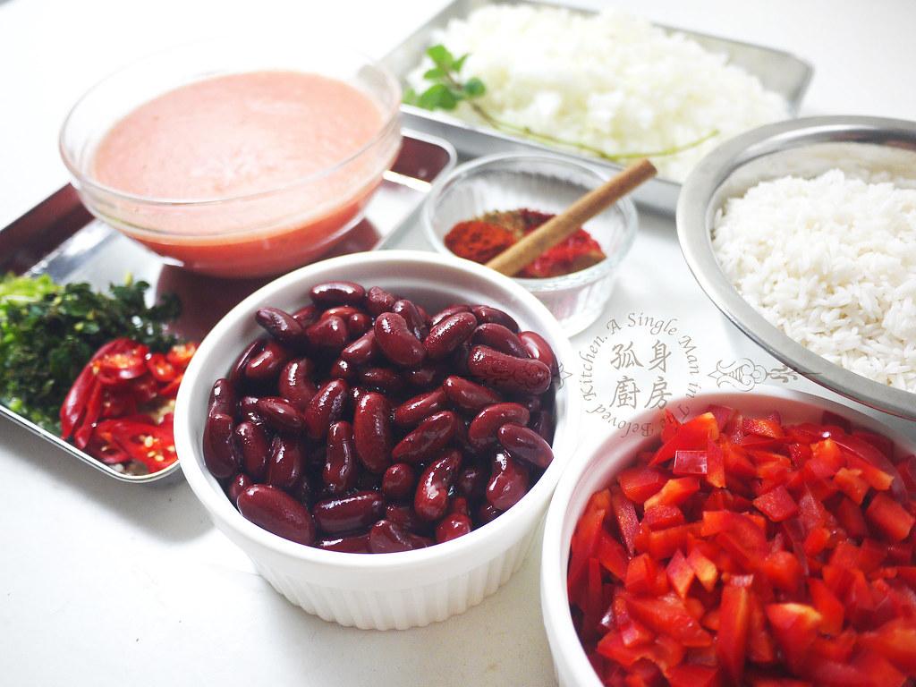 孤身廚房-墨西哥辣醬佐香米7