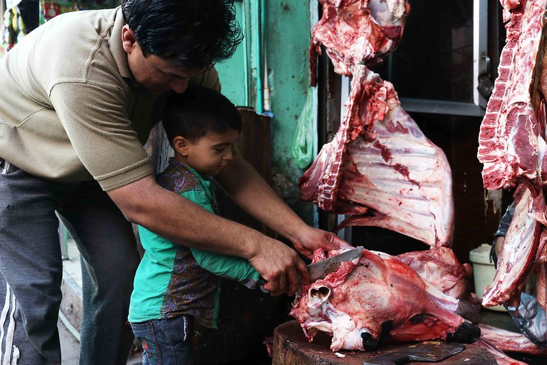 City Moment - Father to Son, Turkman Gate Bazaar