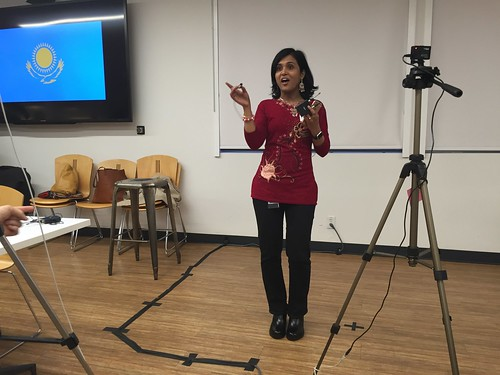 Rebecca Biswas TechWomen Delegation event April 2016