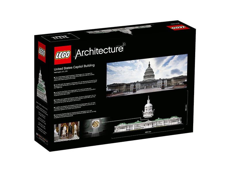 LEGO Architecture 21030 - United States Capitol Building