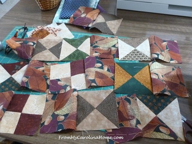 Scrappy Quilt Carrier | From My Carolina Home