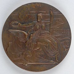 Athens 1896 Summer Olympics Participation Medal obverse