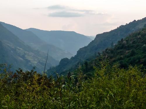 nepal sunset trek np annapurna himalayas basecamp annapurnabasecamp ghandruk westernregion jhinu