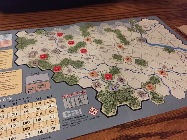 Objective Kiev, playing with Evan S