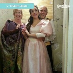 Two years ago. Was this really the last show I did with Elaine?
