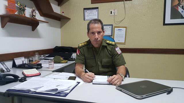 Comando, Coronel PM Tomaso