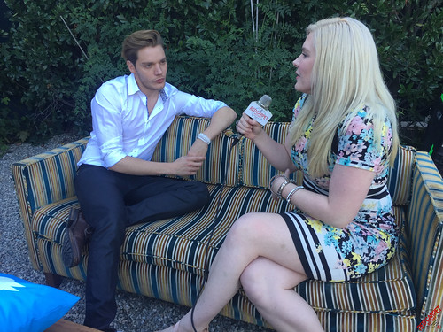 Dominic Sherwood at the Freeform Launch Virtual Event with Shadowhunters and Pretty Little Liars Cast Members #FreeformLaunch IMG_8358
