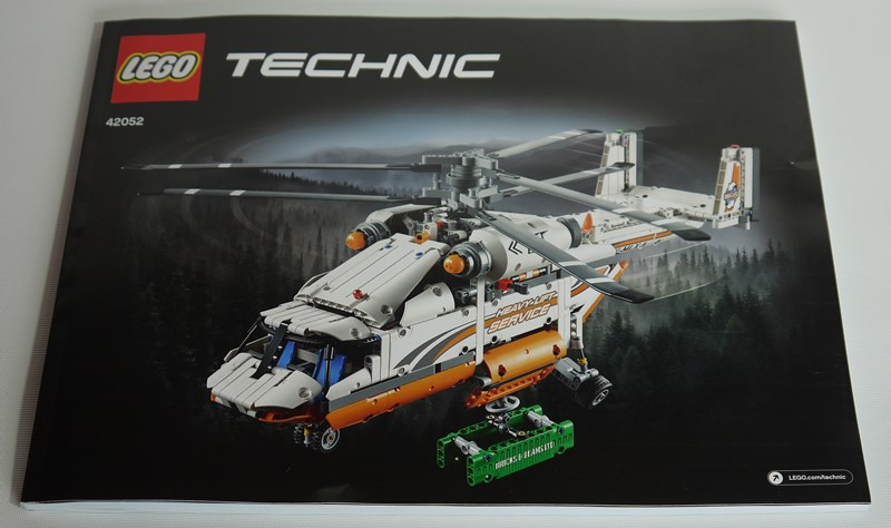 Review 42052 Heavy Lift Helicopter Brickset Lego Set Guide And