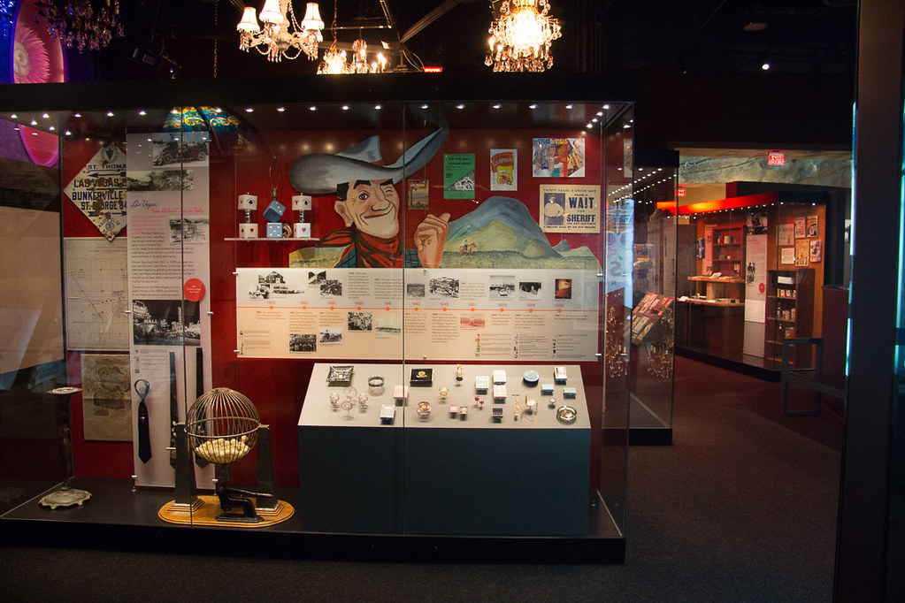 Inside the Nevada State Museum
