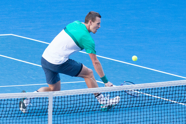 Tomas Berdych at the Australian Open 2016