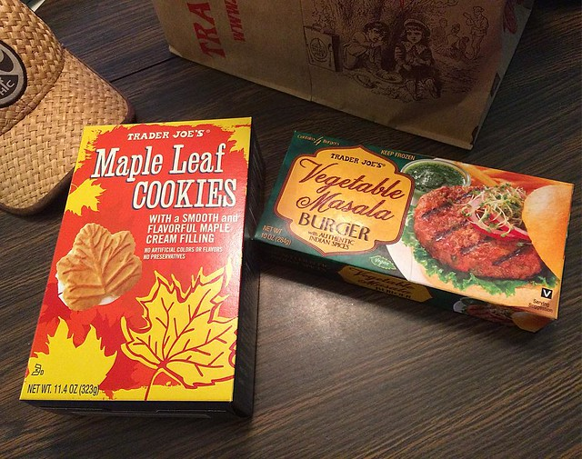 Danger! Danger! Gluttony approaching! (this is why I can't go to Trader Joe's very often...)