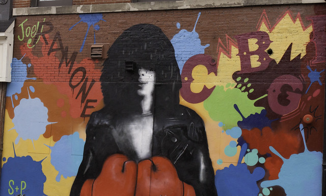January 17 2016 -- Joey Ramone Bowery and Bleecker Street