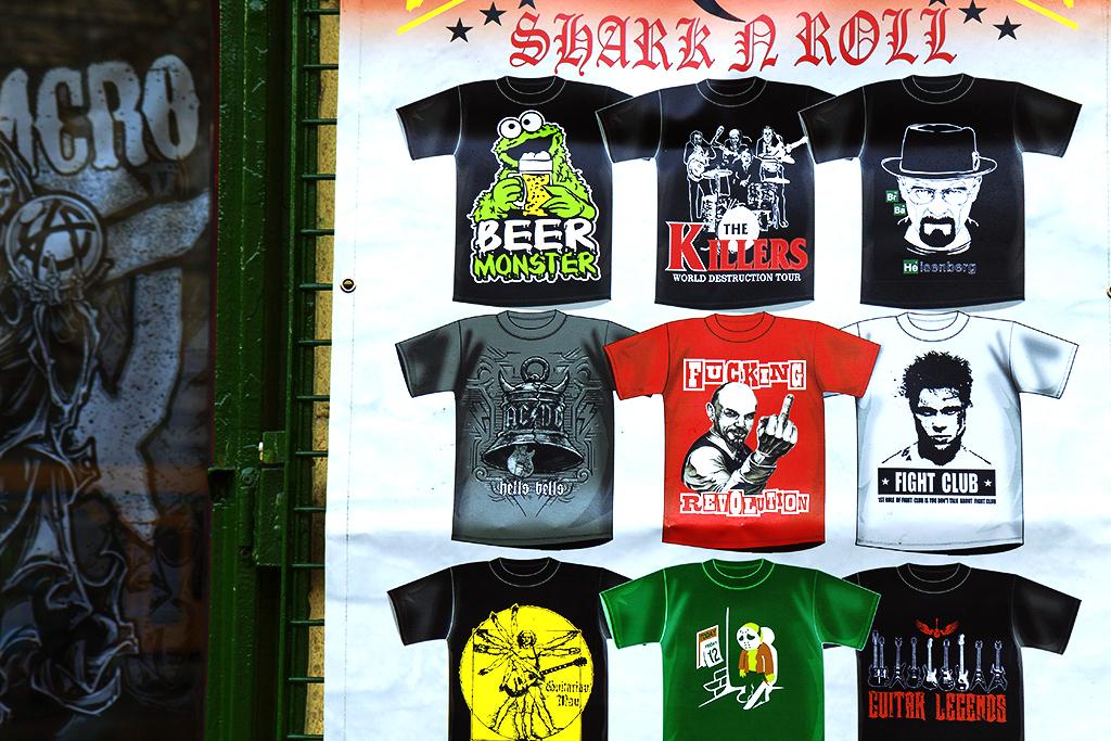 FUCKING REVOLUTION T-shirt--Budapest