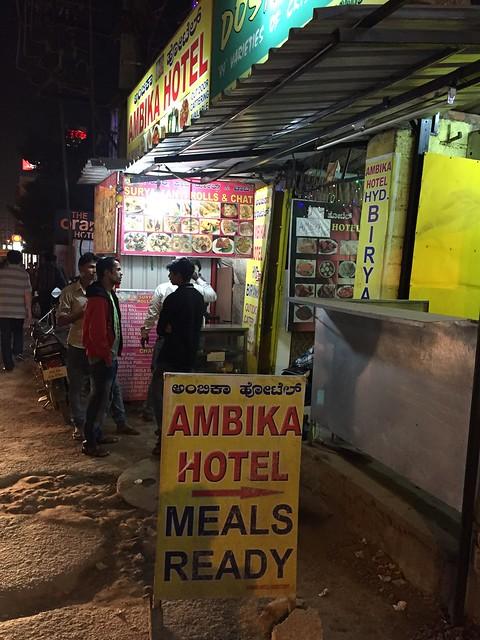 Hotel = Restaurant in India