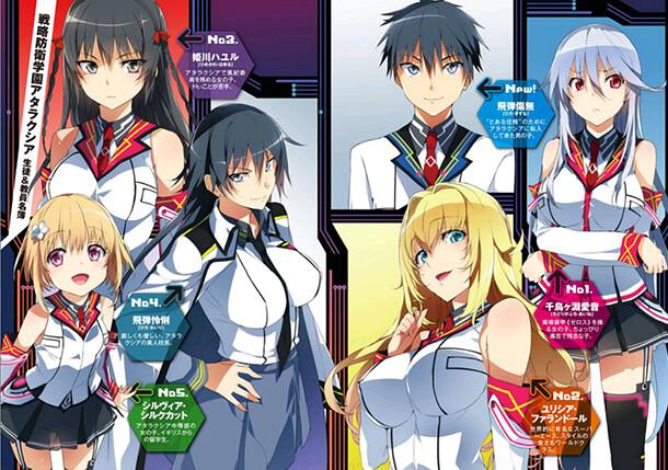 Masou Gakuen HxH terá adaptação para anime