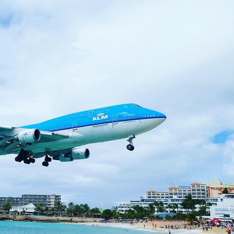 Honeymoon Caribbean - Maho Beach