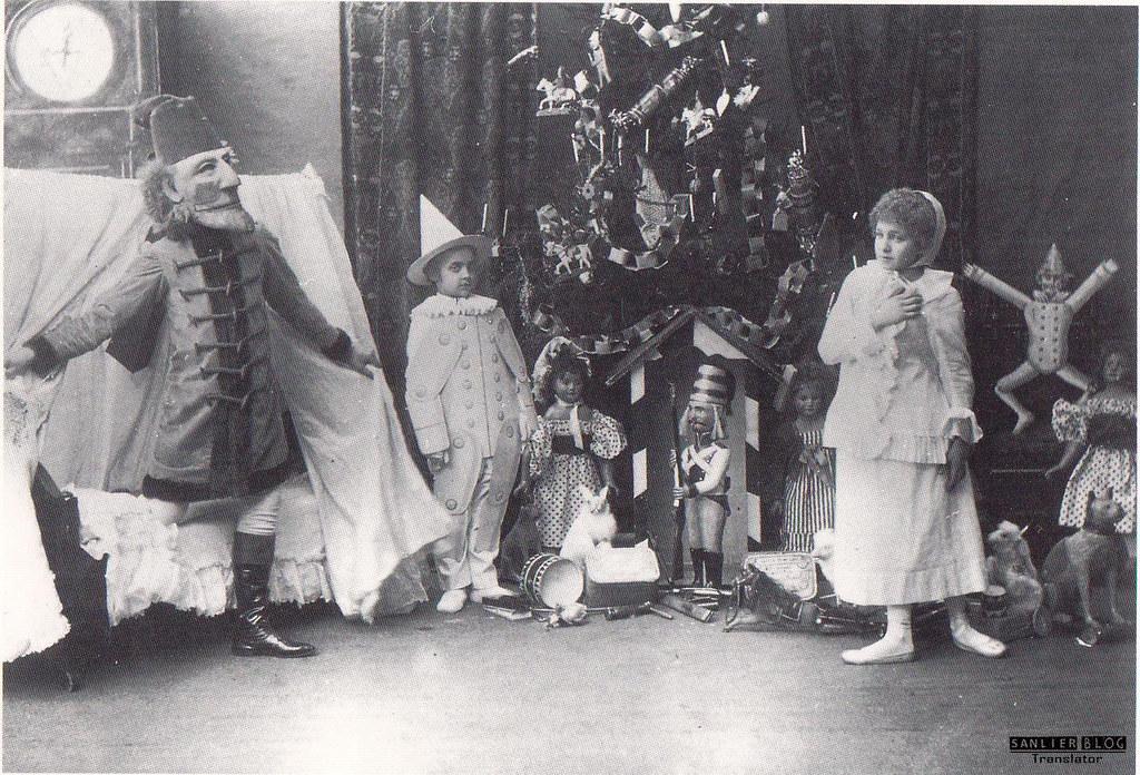 19世纪芭蕾剧舞台设计12