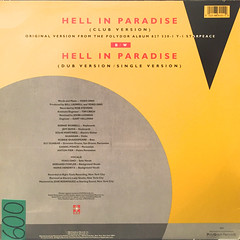 YOKO ONO:HELL IN PARADISE(JACKET B)