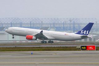 Delivery of Airbus A330-300 to SAS