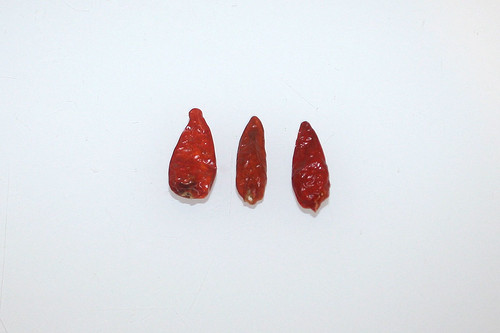 06 - Zutat getrocknete Chili / Ingredient dried chili