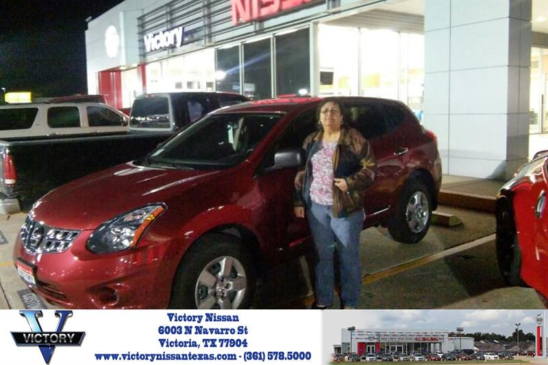Victory Nissan Victoria Tx >> Congratulations Melda On Your Nissan Rogue Select From J