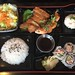 Bento box lunch at