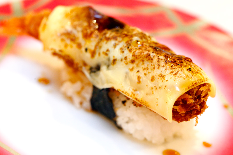 Ebi Cheese Sushi