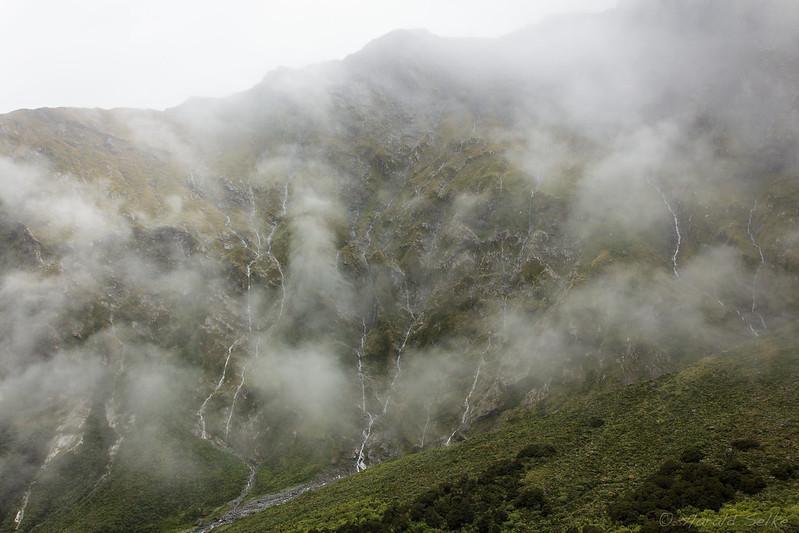 Top of Roaring Burn Valley