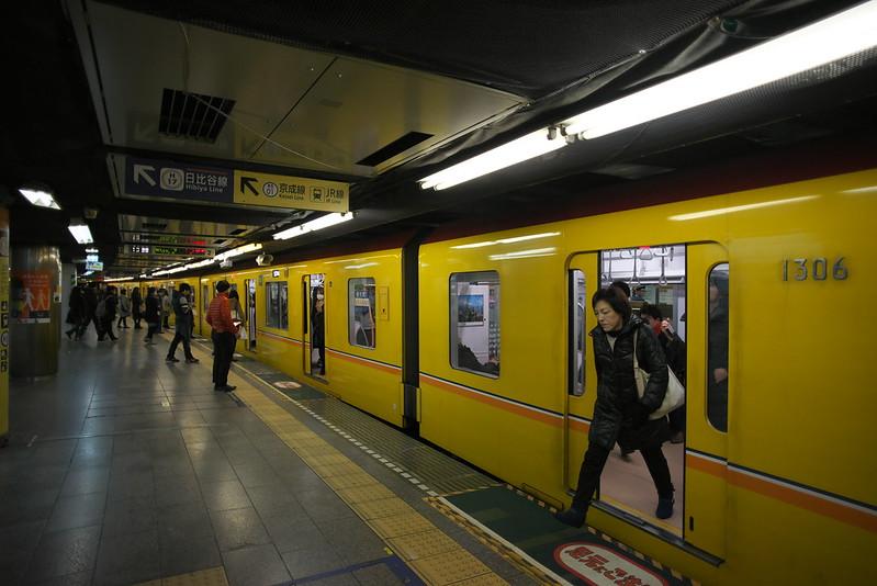 Tokyo Train Story 銀座線