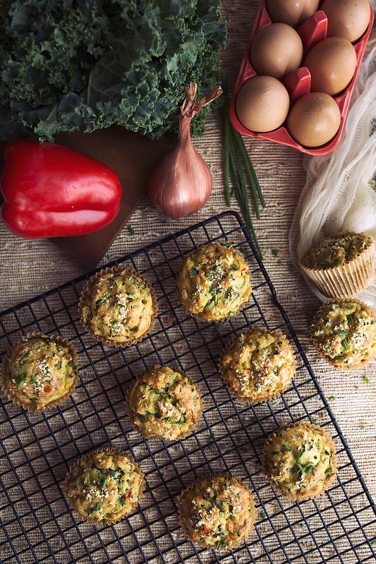 Grain-free Savory Breakfast Muffins