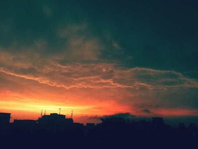 my stormy sky