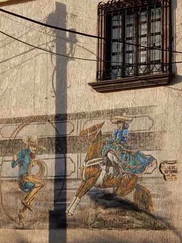 Tonala - muurschildering