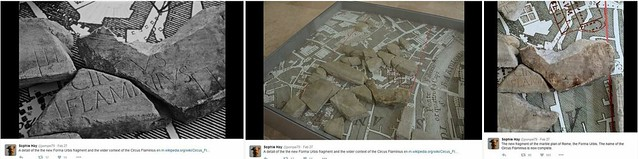 """ROMA ARCHEOLOGICA & RESTAURO ARCHITETTURA: A new fragment of the """"Forma Urbis Romae"""" discovered! BLOG of Roger Pearse (26
