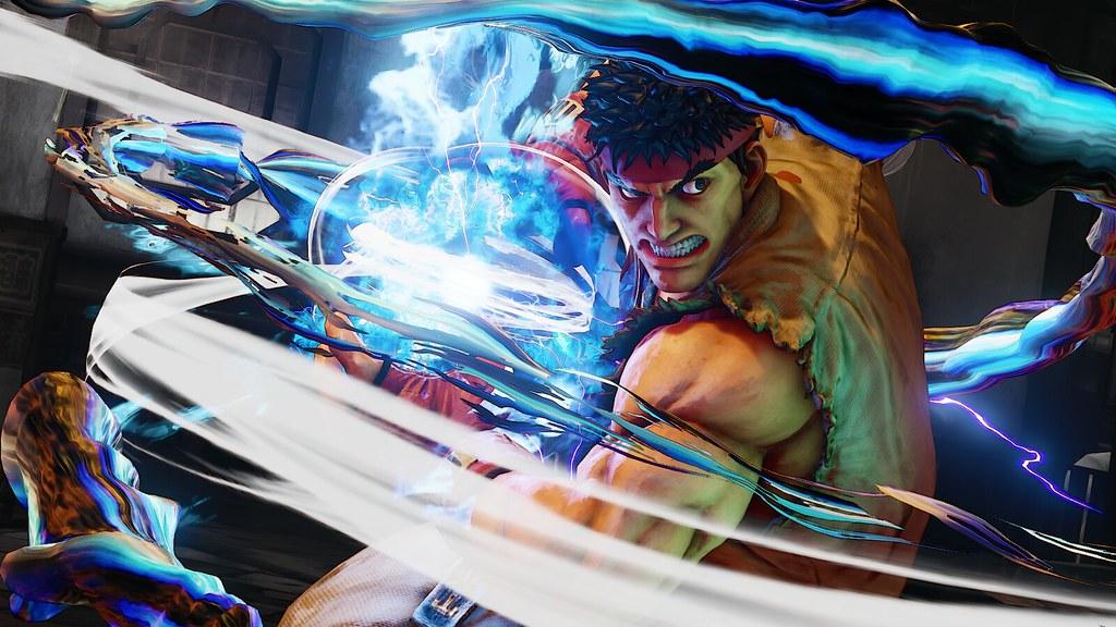 street fighter v captura de pantalla para ps4 de ryu