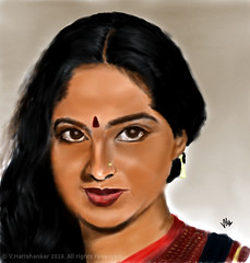 Veteran actress Radha