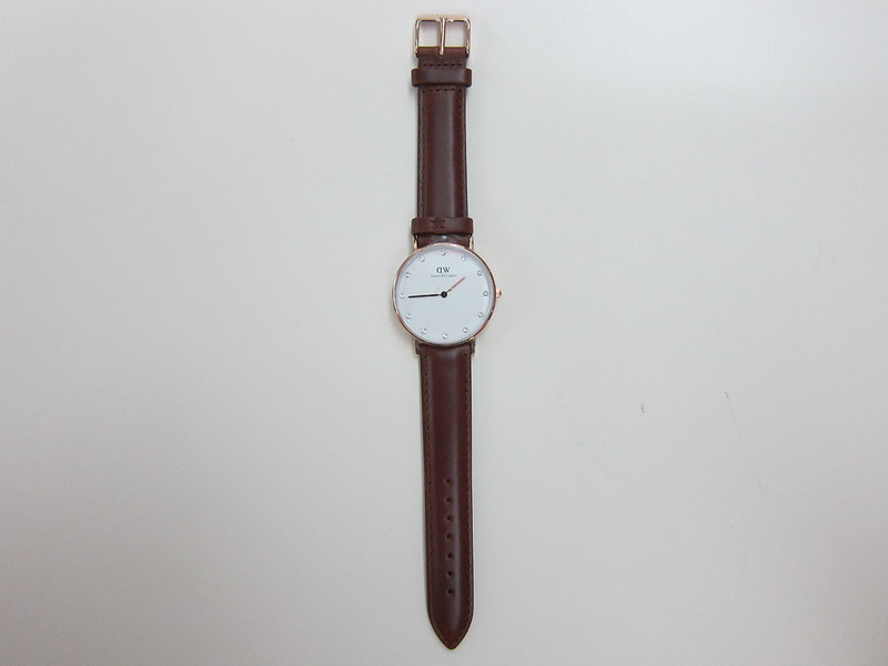 DW - Classy St Mawes Watch Rose Gold (34mm) - Front