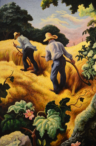 Thomas Hart Benton - July Hay