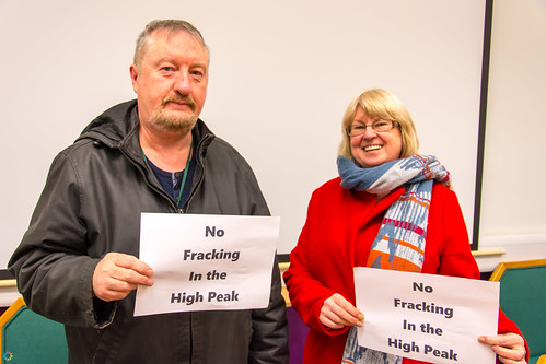 No to fracking in the High Peak