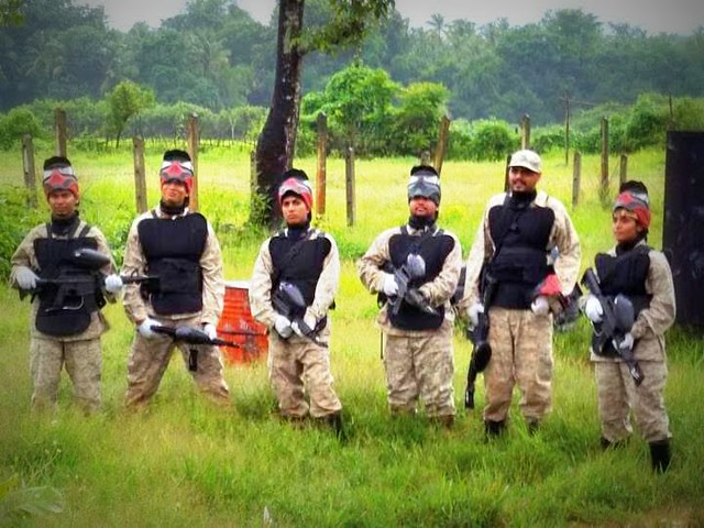 Paintball in Goa Near Nuvem Majorda