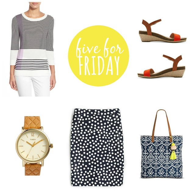 five for friday, a few of my favorite things; Style On Target