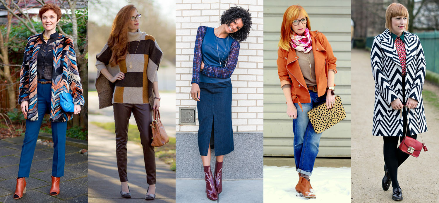 A round up of 12 amazing over 40 fashion bloggers