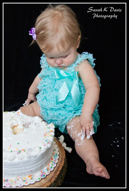 Kennedy's 1 Year Shoot & Cake Smash