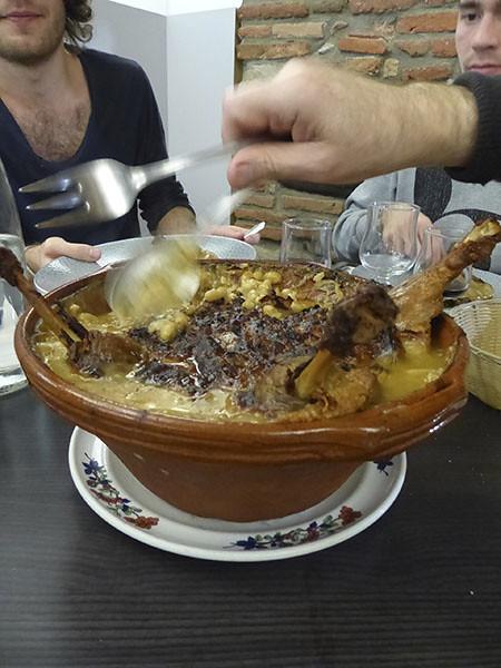 le plat de cassoulet