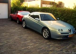 1972 Alfa Romeo Montreal & 1999 Alfa Romeo GTV 2.0 T.Spark