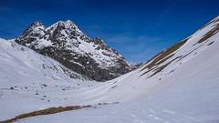 Pointe Nerot 3538m z przełęczy Col d