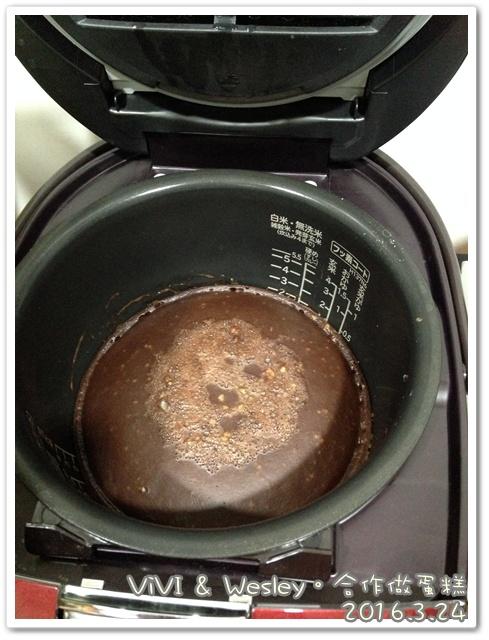 和vivi一起完成電鍋蛋糕 004