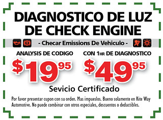 16- Span. Diagnostico de luz de Check Engine - Rite Way Spring AD16