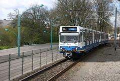 BN stellen Gvb 57 en 48 tussen v. Boshuizenstraat en Kalfjeslaan. Amsterdam, 20160423_IMG_5351