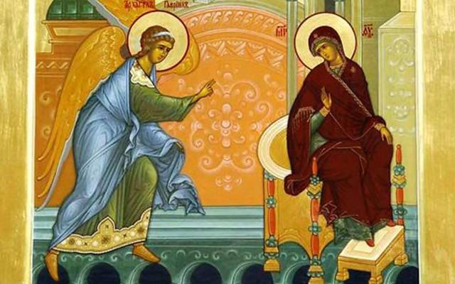 გილოცავთ ხარების ბრწყინვალე დღესასწაულს